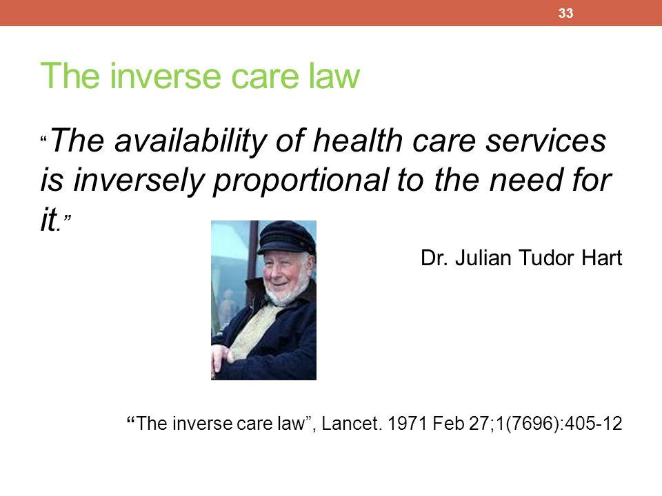 SOCIAL DETERMINANTS OF HEALTH AND HEALTH DISPARITIES A key measure of Social Justice 32