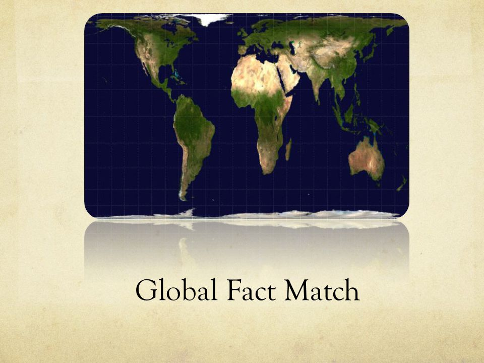 Global Fact Match