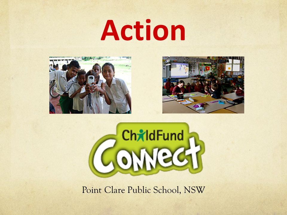 Action Point Clare Public School, NSW