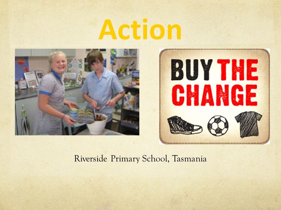 Action Riverside Primary School, Tasmania