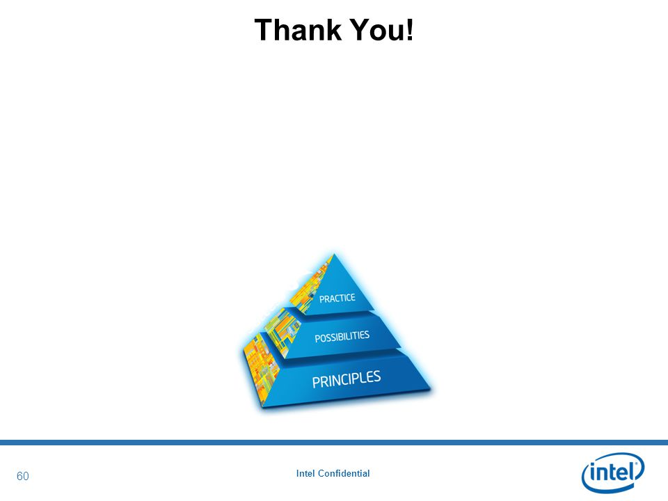 Intel Confidential 60 Thank You!