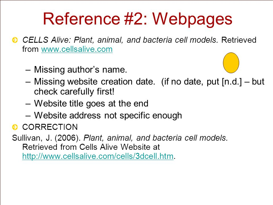 Reference #3: YouTube Videos Youtube.(2007). DNA Structure [Video file].