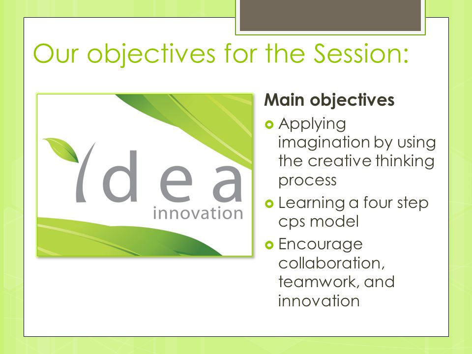 Step 2: Ideate  Generate ideas—at least 40 from your group.