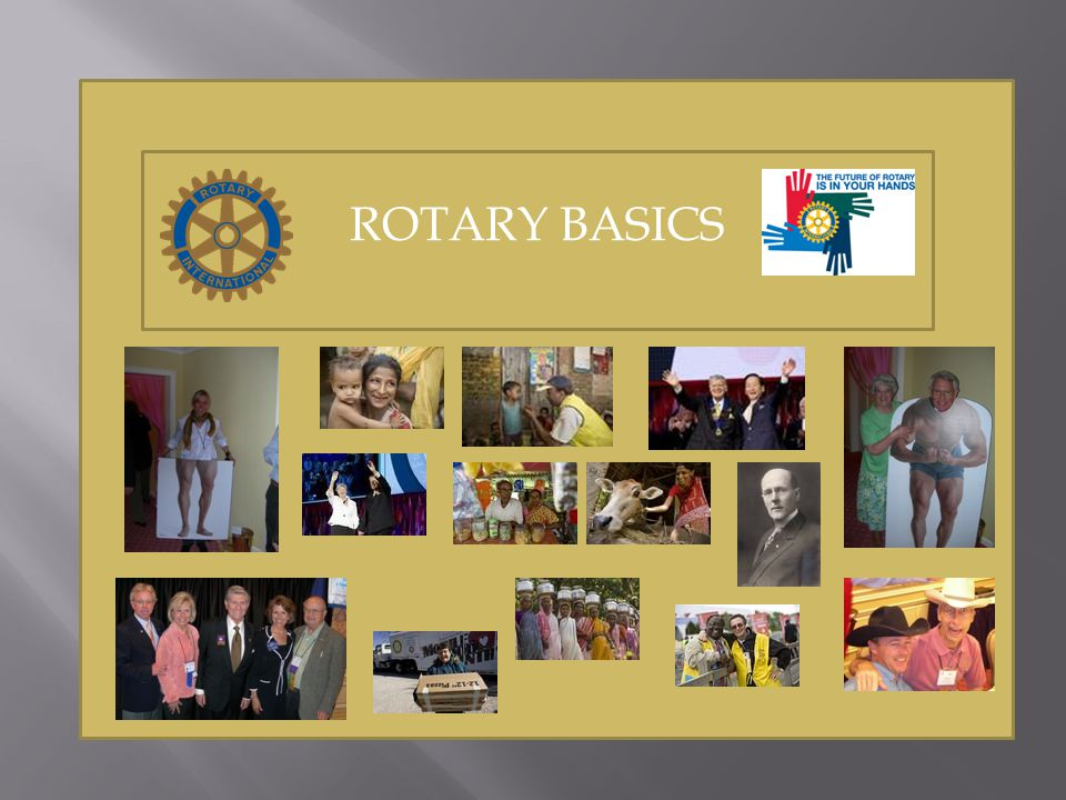 Is Rotary a Grassroots Organization.