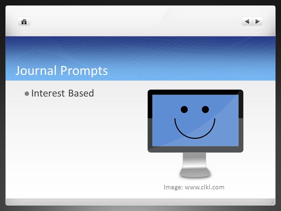 Journal Prompts Interest Based Image: www.clkl.com