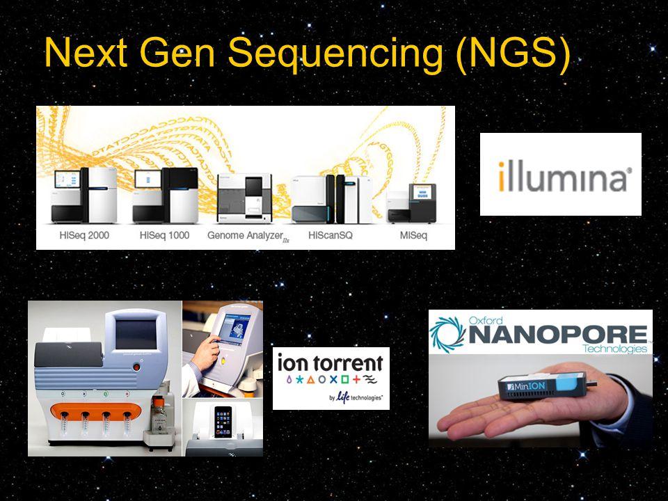 Next Gen Sequencing (NGS)
