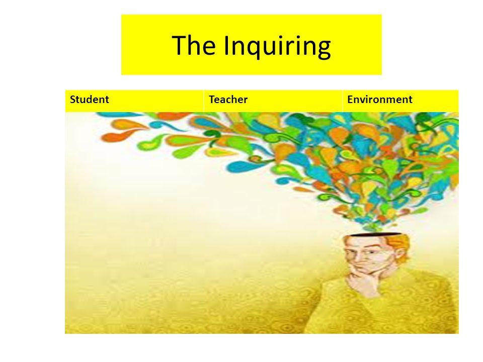 The Inquiring StudentTeacherEnvironment