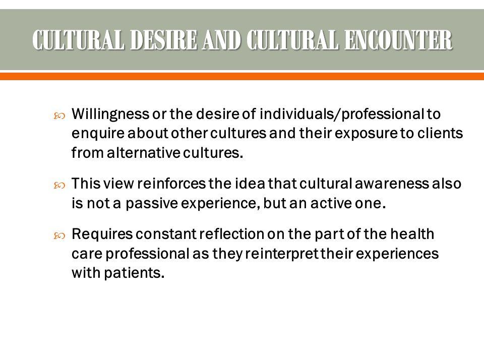  CULTURAL AWARENESS.  CULTURAL KNOWLEDGE.  CULTURAL SENSITIVITY.  CULTURAL SKILLS.  RESPECT.