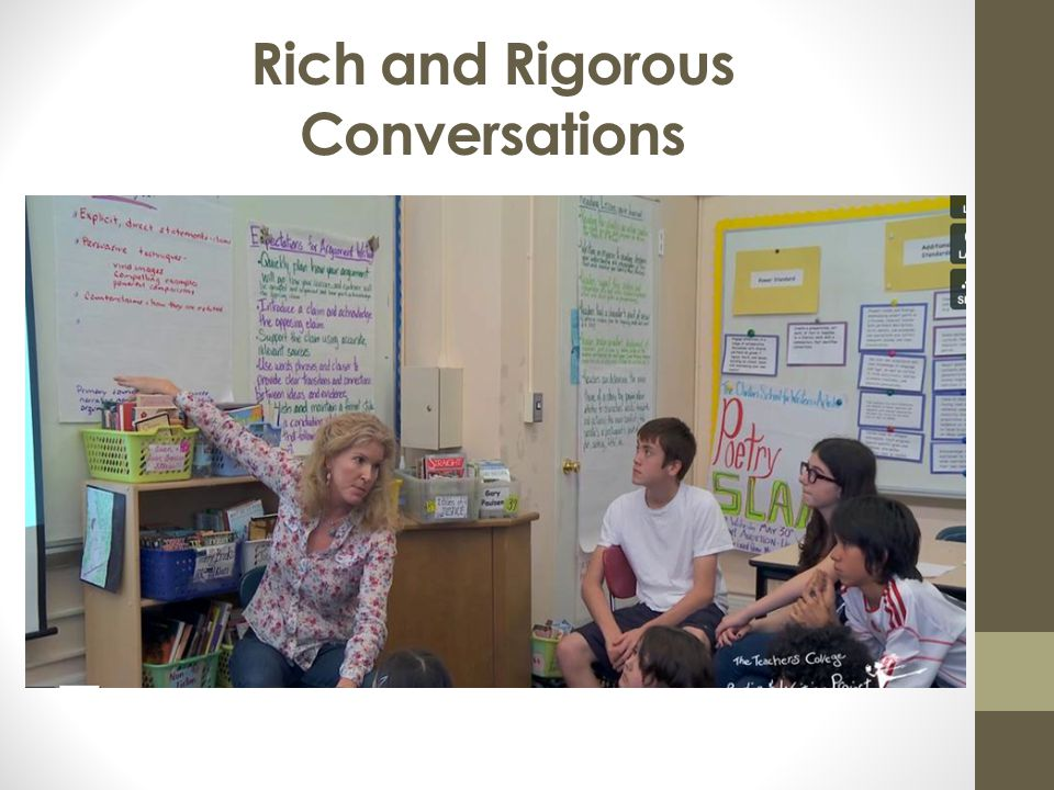 Rich and Rigorous Conversations