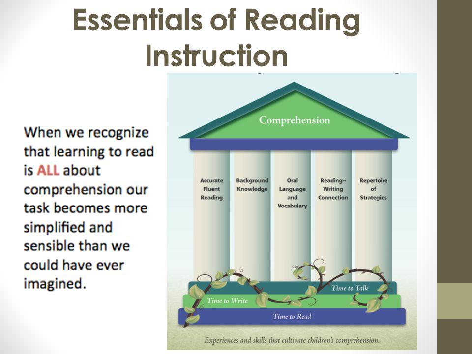 Essentials of Reading Instruction