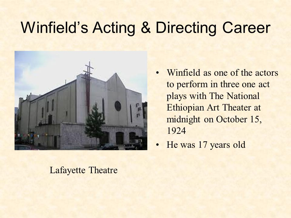 Roerich Theater at 310 Riverside Drive opened October 13, 1929.