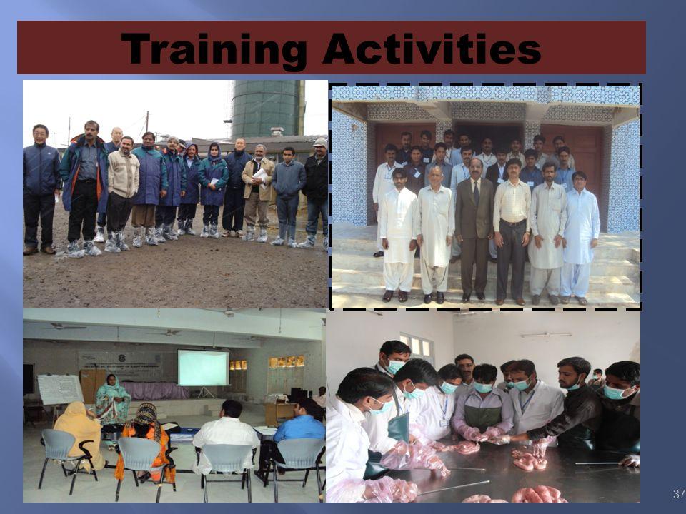Training Activities 37