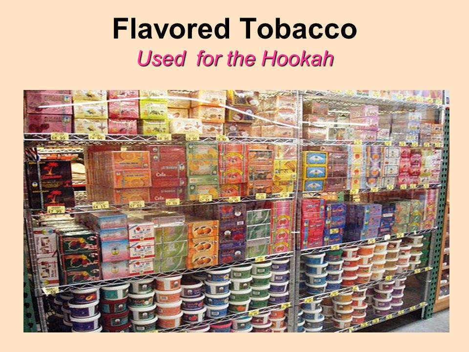 Used for the Hookah Flavored Tobacco Used for the Hookah