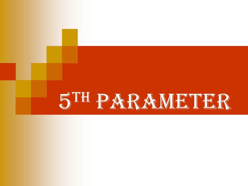 5 th parameter