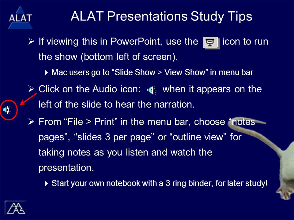  If viewing this in PowerPoint, use the icon to run the show (bottom left of screen).