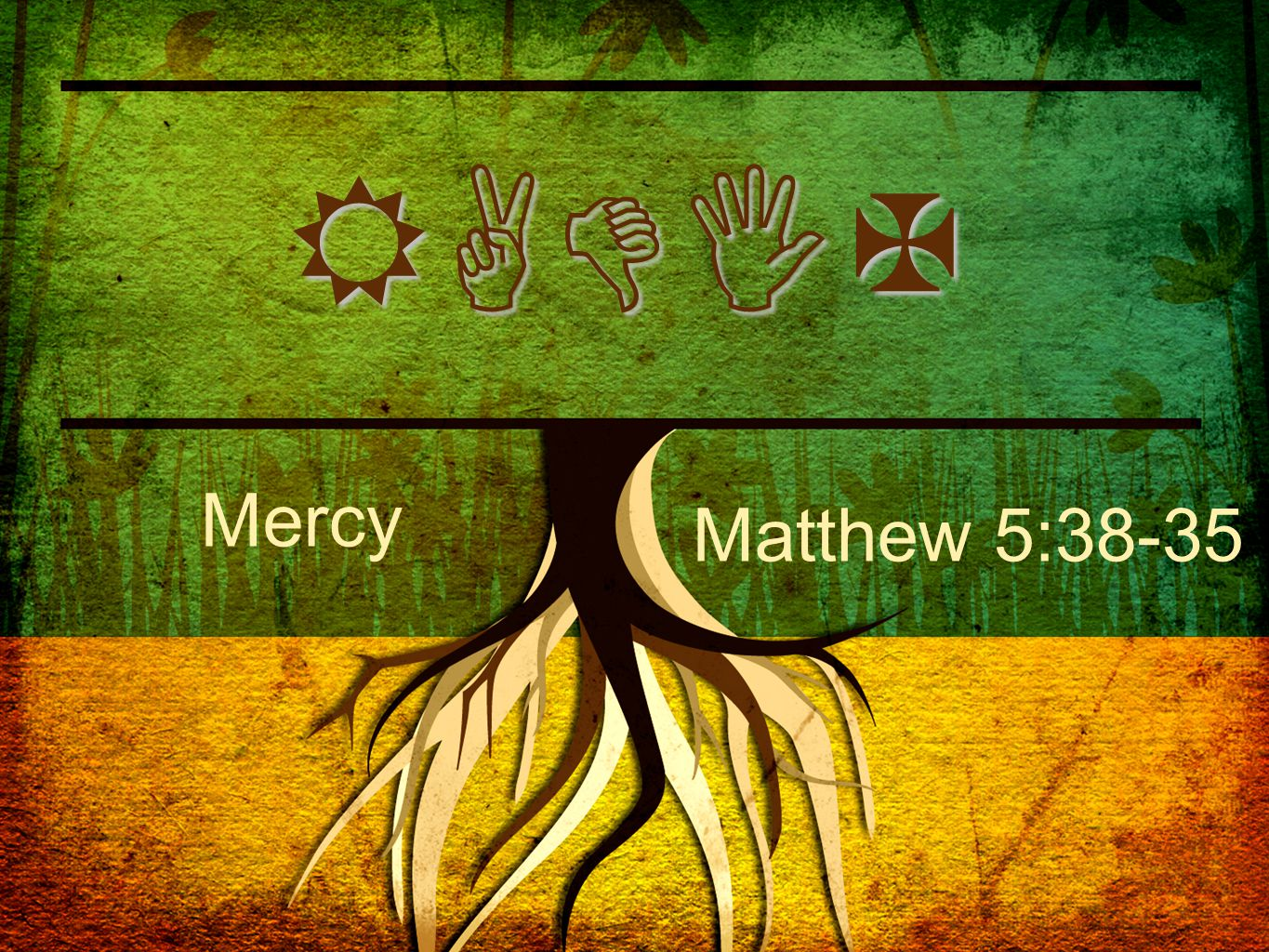 RADIX Mercy Matthew 5:38-35