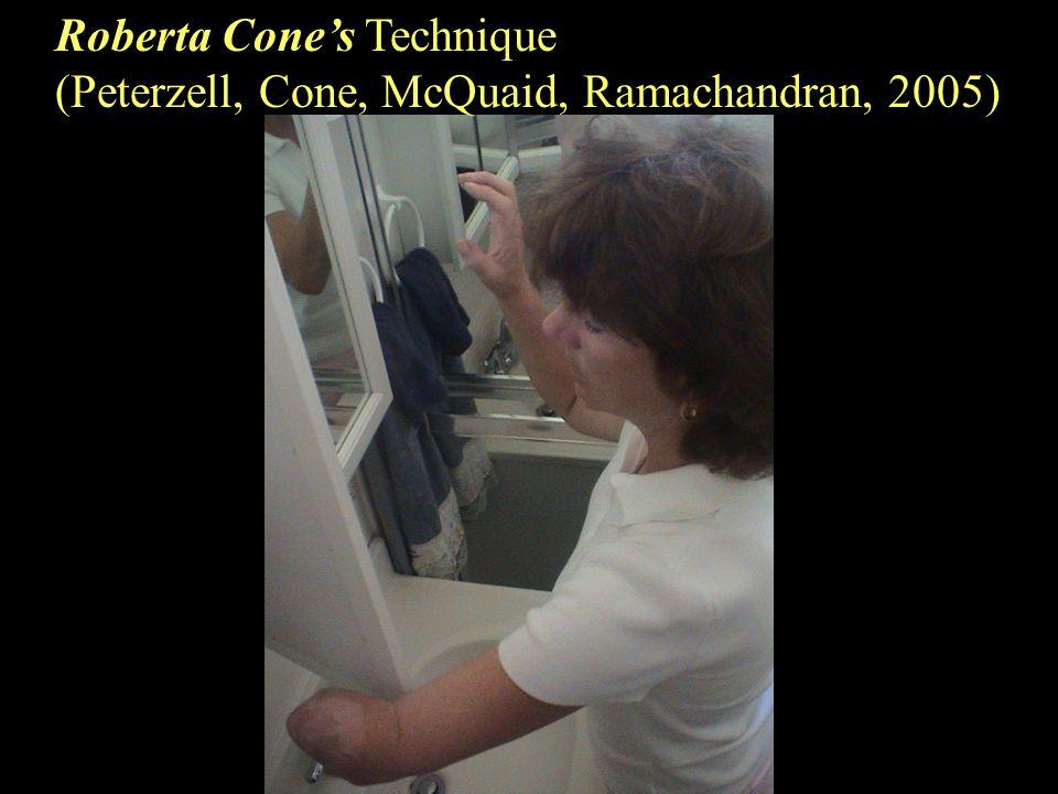 Roberta Cone's Technique (Peterzell, Cone, McQuaid, Ramachandran, 2005)