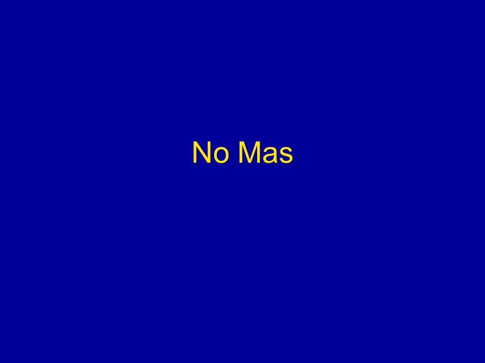 No Mas