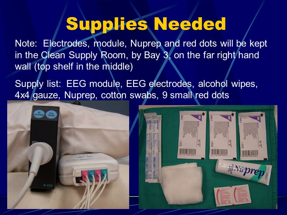 Electrode Placement Perform hand hygiene, don sterile gloves if assess need to do so.