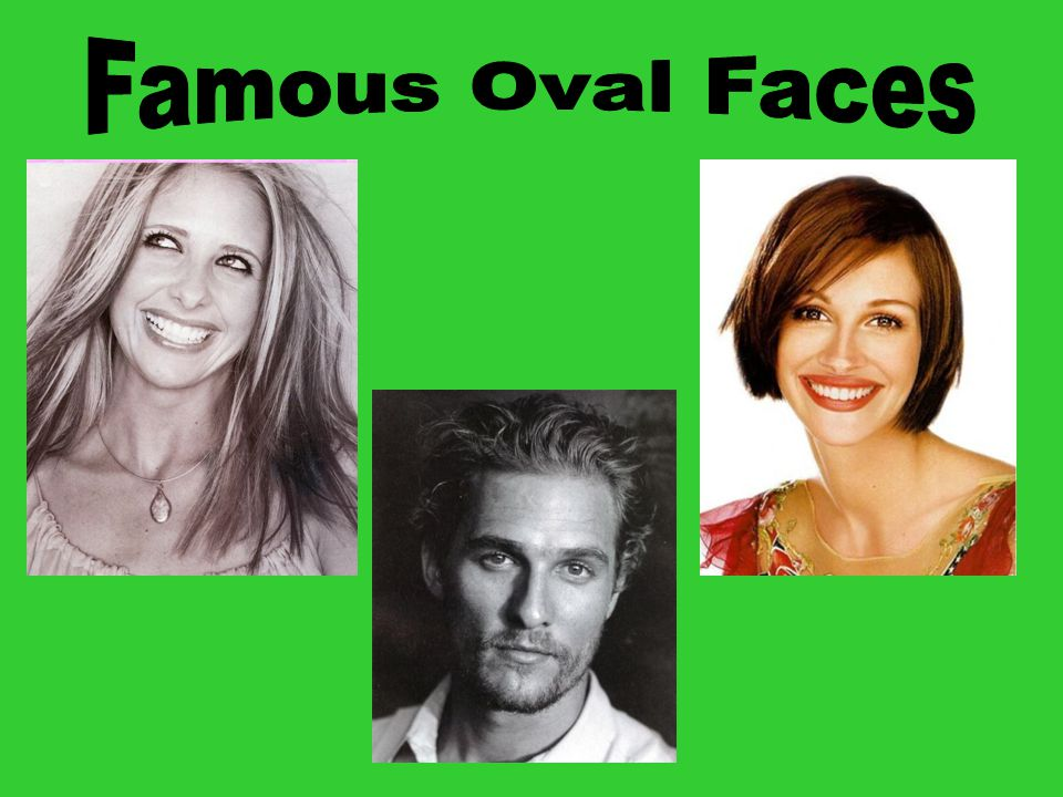 Heart Heart face characteristics: Narrow jaw line Wide at cheeks/forehead Face is wide at temples and hairline, narrowing to a small, delicate chin Goals: Balance cheek and chin area Add fullness to chin area Solutions: Chin-length or longer (bobs are great) Avoid too much height/weight on the top Side parted hairstyles