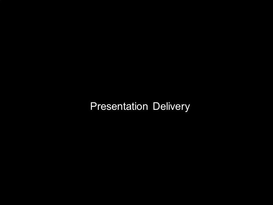 8  10 29 Presentation Delivery