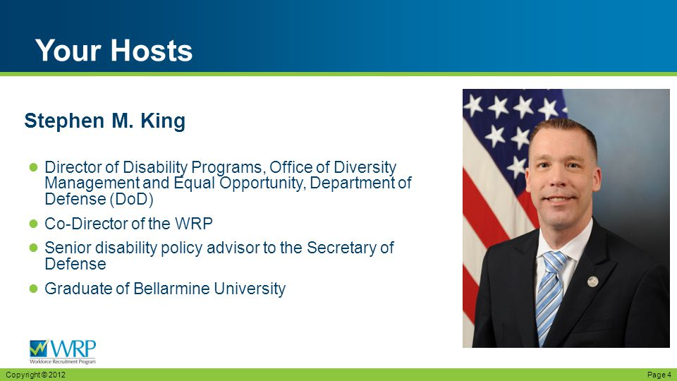 ● Presidential Management Fellow, Office of Disability Employment Policy, U.S.