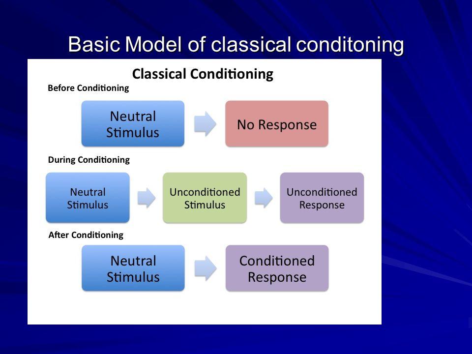 Basic Model of classical conditoning