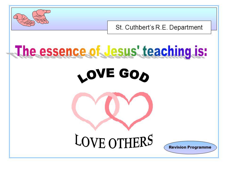 St. Cuthbert's R.E. Department Revision Programme