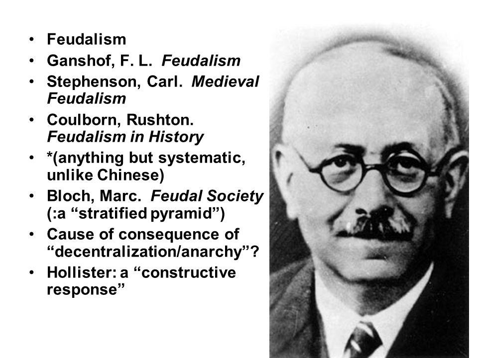 Feudalism Ganshof, F. L. Feudalism Stephenson, Carl.