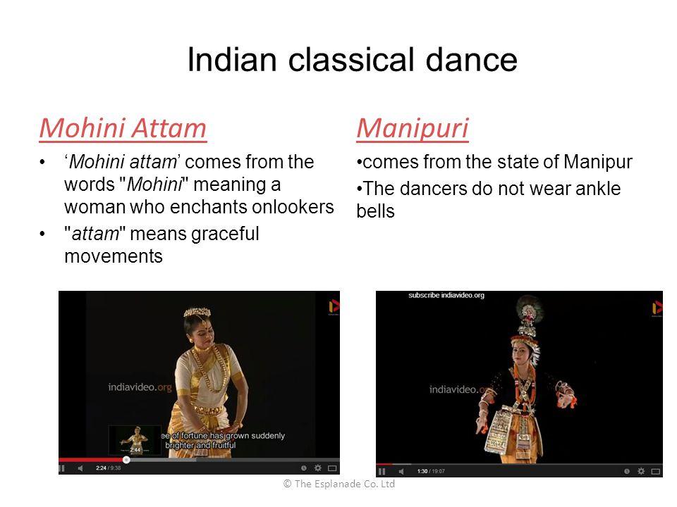 Mohini Attam 'Mohini attam' comes from the words