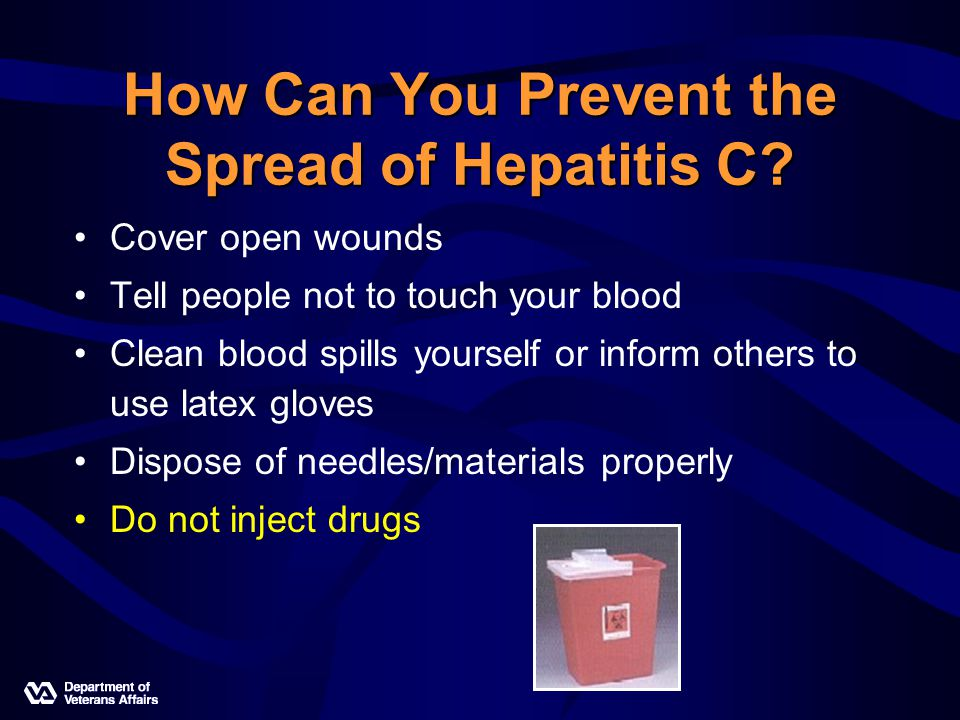 How Can You Prevent the Spread of Hepatitis C.