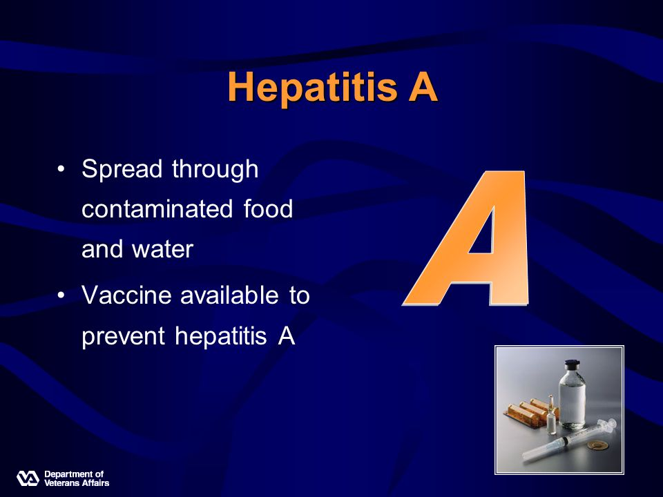 Hepatitis B Spread through blood- blood contact Also transmitted through sex Vaccine available to prevent hepatitis B