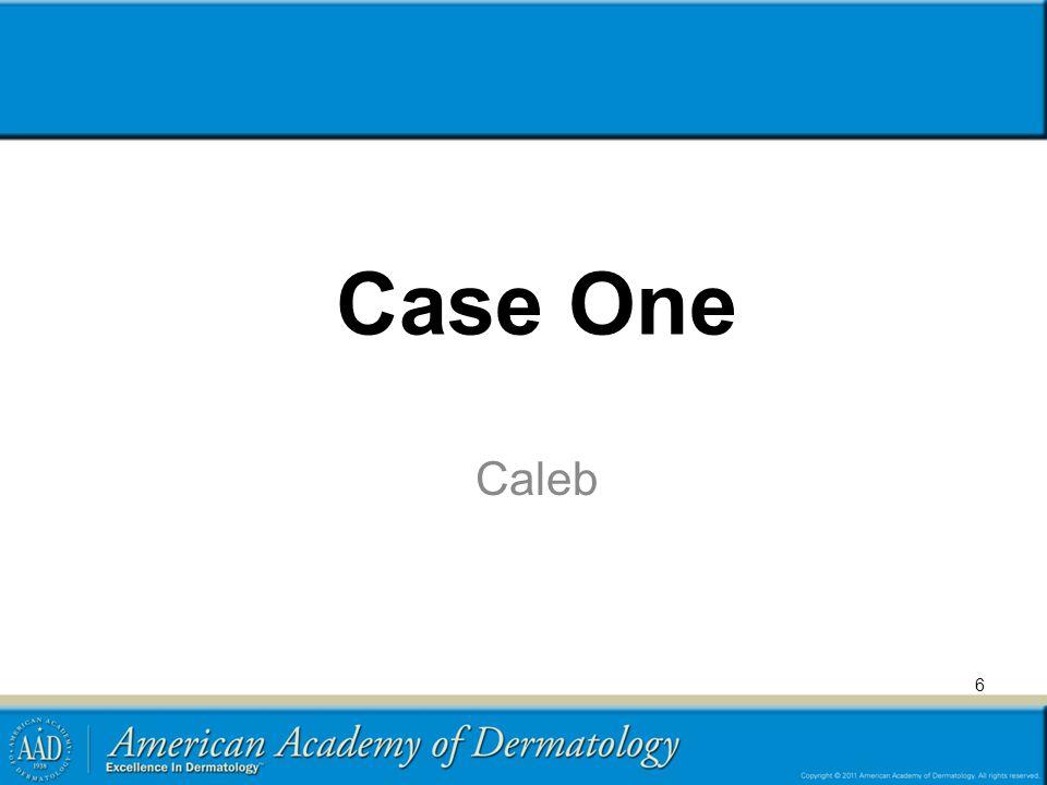 Case One Caleb 6