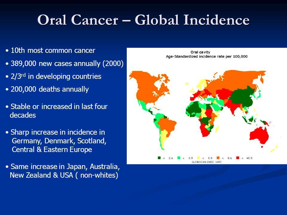 G B Cancers - T 3 / 4 Management of nodes 1980 – 1989 - 527 patients Extent of neckSD SOHD RND Dissection (Level I ) (Level I – III) (Level I – V ) N0 N+ N0 N+ N0 N+ Nodes 95 71 141 42 67 111 Regional 11(12%) 24(34%) 7(5%) 8(19%) 2(3%) 20(18%) Recurrence Pradhan S.A., D'Cruz A.K.