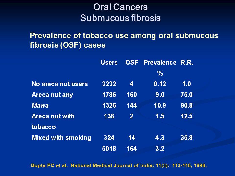 Gupta PC et al. National Medical Journal of India; 11(3): 113-116, 1998.