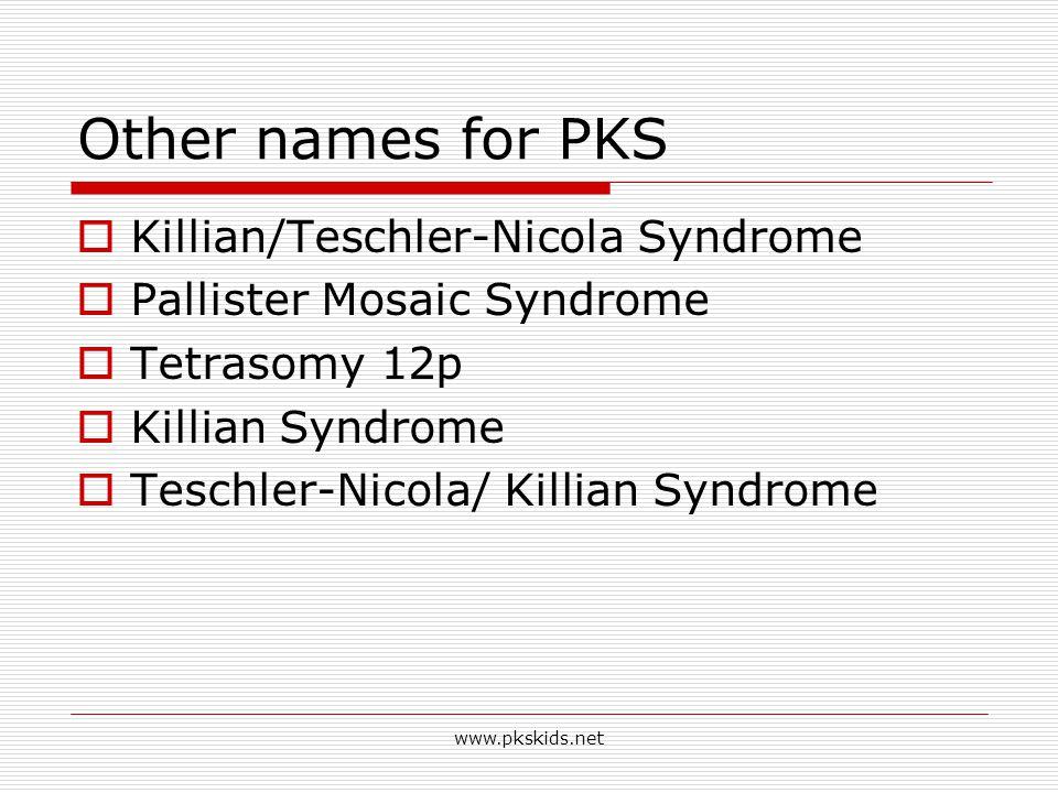 www.pkskids.net Faces of PKS