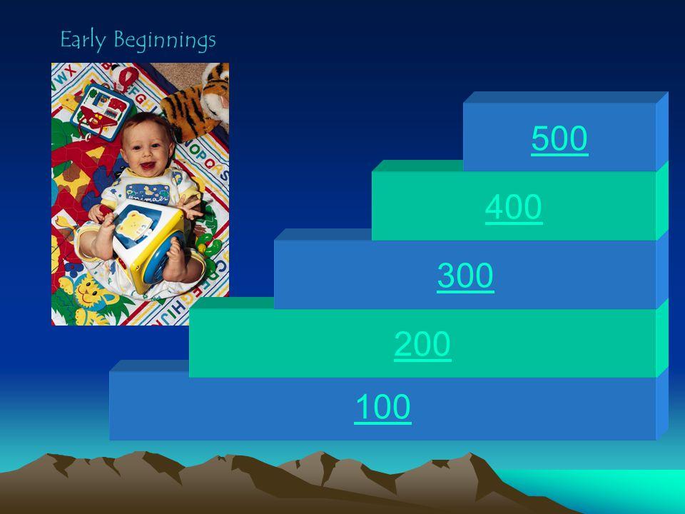 100 200 300 400 500 Early Beginnings