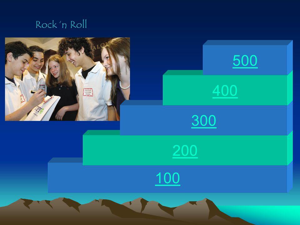 100 200 300 400 500 Rock 'n Roll