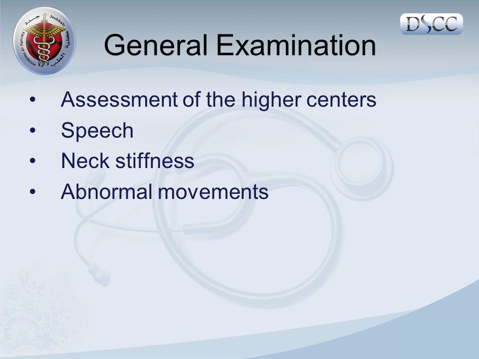 Reflexes ( 0 - ++++ ) Knee jerk ( L3,L4 ) – Ankle jerk (S1,S2 ) – Plantar reflex ( L5, S1, S2 ) Coordination Heal to shin test Toe finger test Foot Tapping test