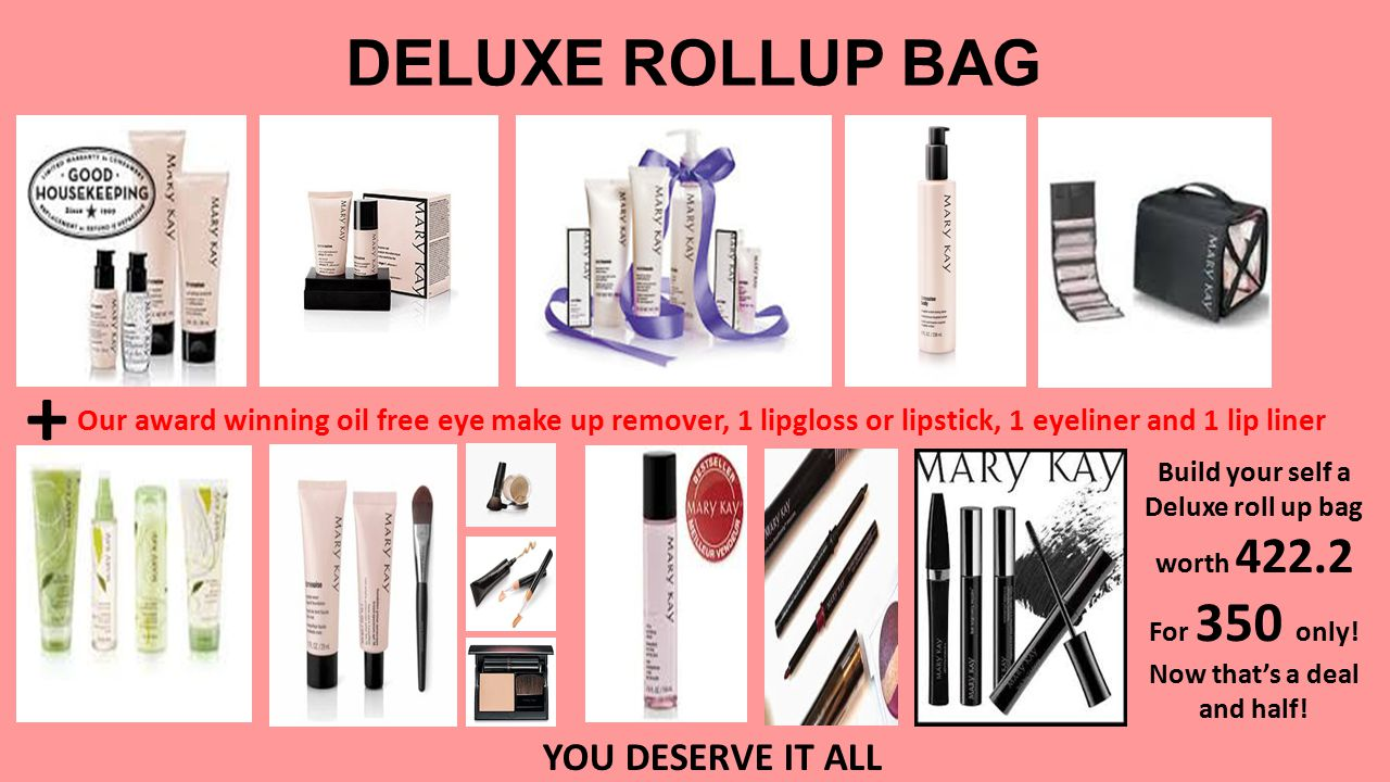 Build Your Self A Roll Up Bag 199 Add foundation Set For 299 only Host a Party and earn More Products.