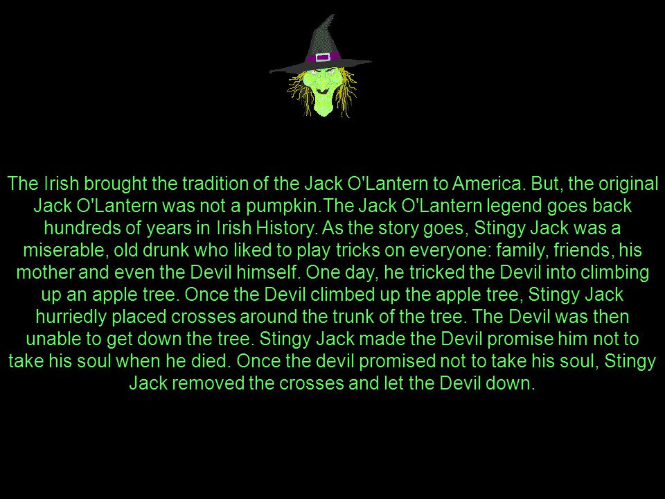 History of the Jack O'Lantern