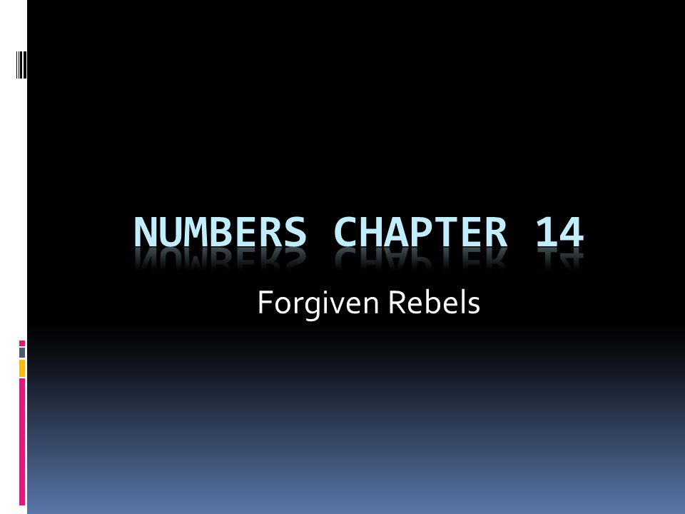 Forgiven Rebels
