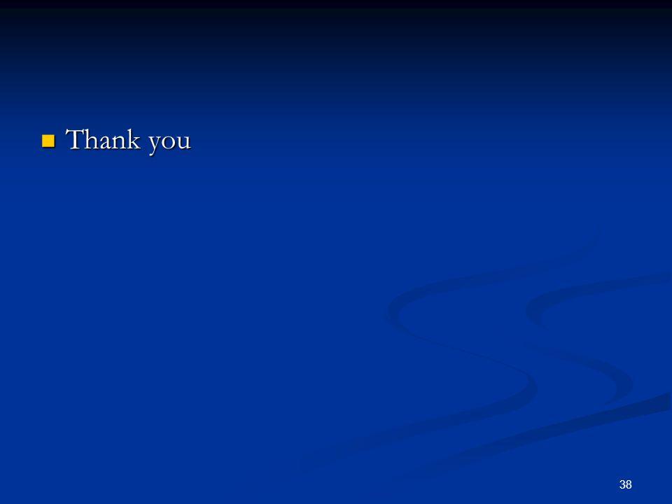 Thank you Thank you 38