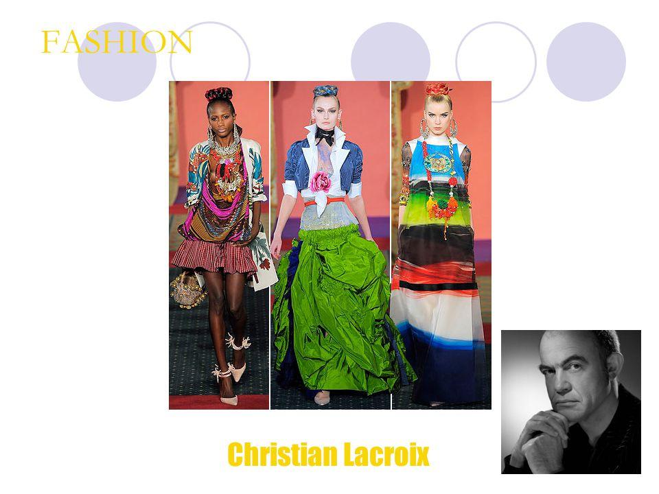FASHION Christian Lacroix