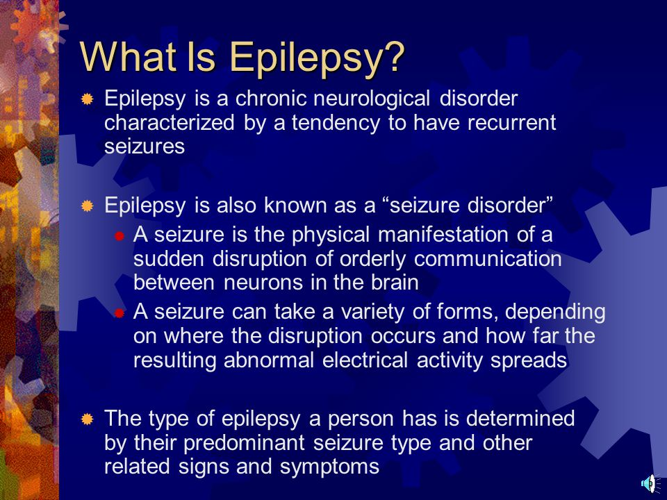 What Is Epilepsy.