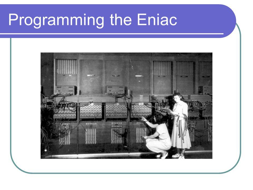 Programming the Eniac