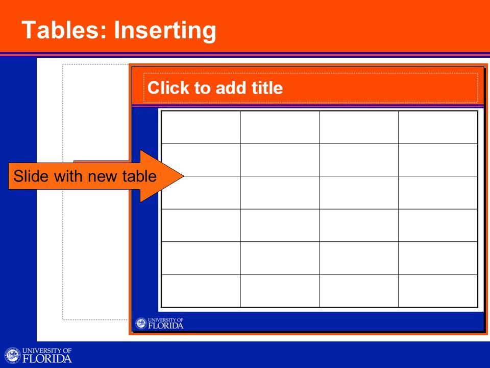 Organizational Chart: Inserting Click Diagram or Organizational chart