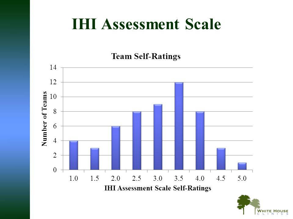 IHI Assessment Scale