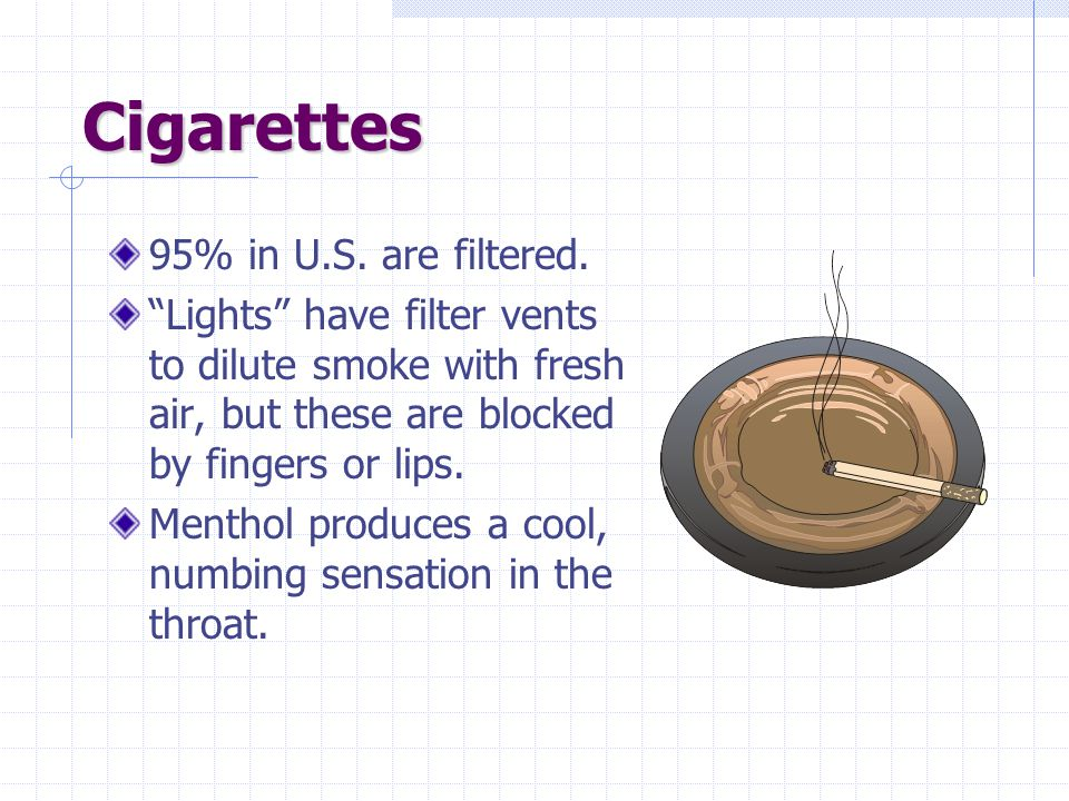 Bidis, Beedies, Beadies Contain up to 8% nicotine compared to 1%-2% in American cigarettes.