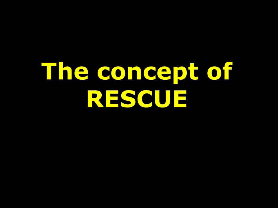 The concept of RESCUE